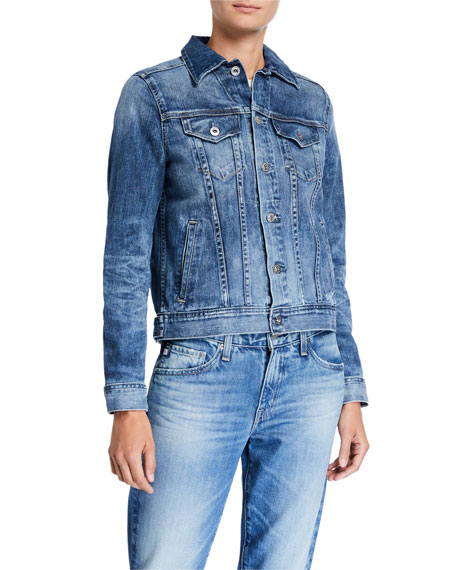 Mya Button-Down Denim Jacket