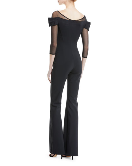 Sumi Illusion Wide-Leg Jumpsuit