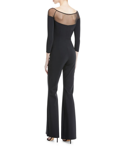 Ashantu Sweetheart-Illusion Jumpsuit