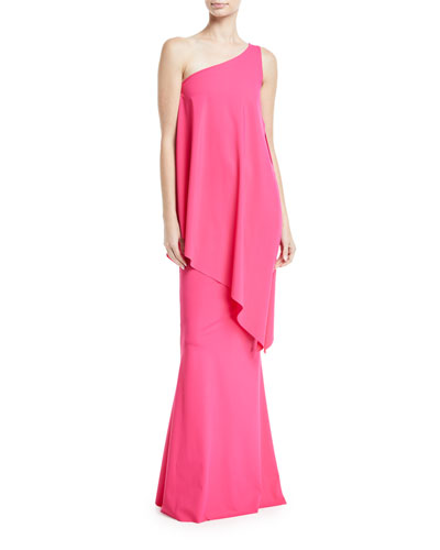Kita Sleeveless Asymmetric Toga Dress