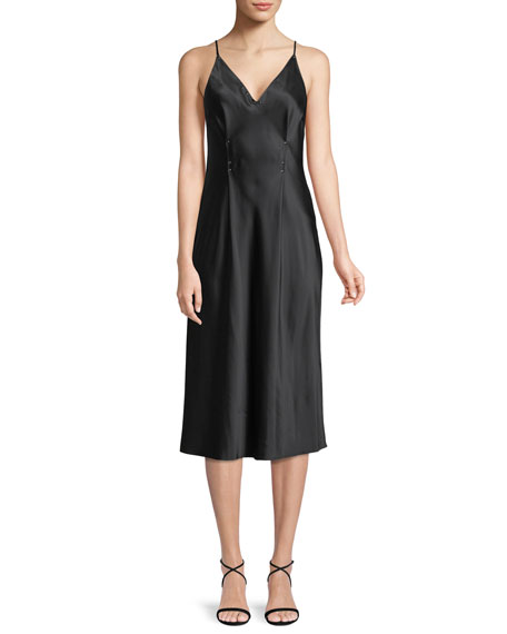 T by Alexander Wang Sleeveless Silk Charmeuse Camisole