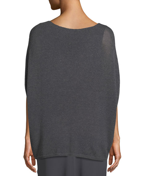 Lived In Knit V-Neck Top, Plus Size