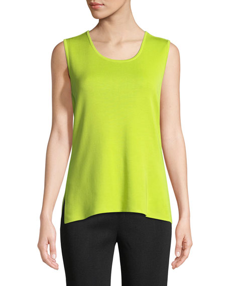 Scoop-Neck Tank Top, Plus Size
