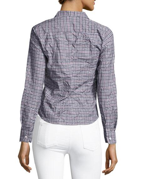 Barry Long-Sleeve Plaid Button-Down Shirt