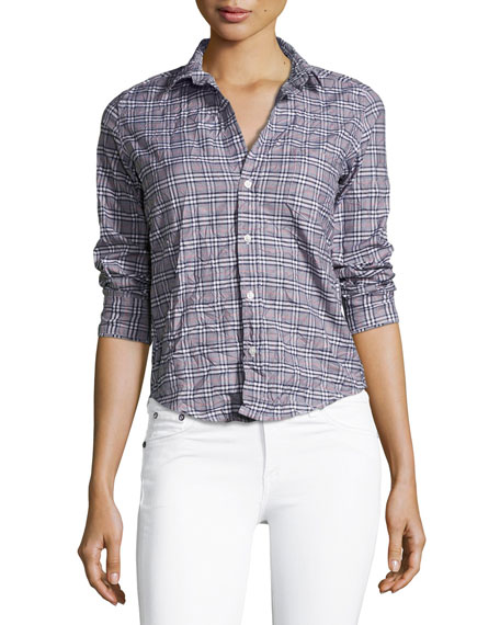 Frank & Eileen Barry Long-Sleeve Plaid Button-Down Shirt