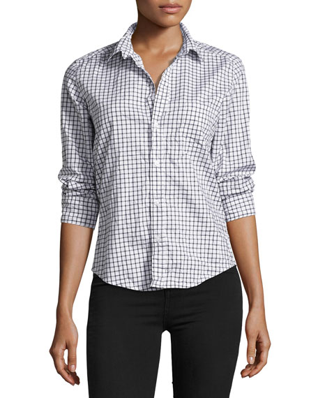 Frank & Eileen Barry Long-Sleeve Check Button-Down Shirt