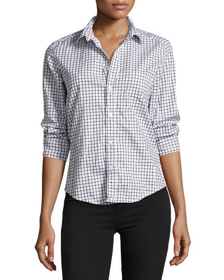 Frank & Eileen Barry Long-Sleeve Check Button-Down Shirt