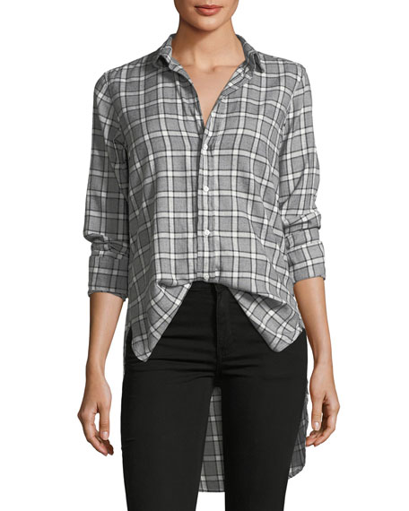 Frank & Eileen Grayson Long-Sleeve Plaid Button-Down Shirt