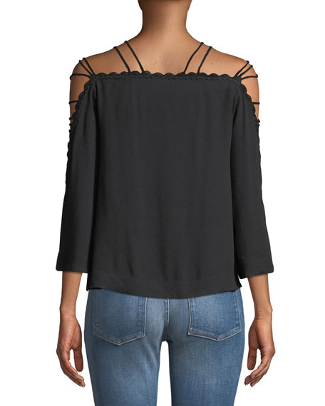 Strappy Sleeve Top