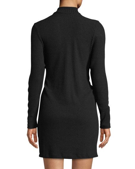 Brushed Tri-Blend Two-Face Choker Dress