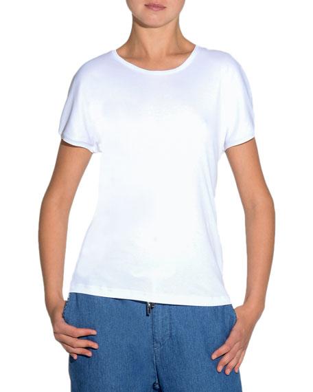 Crew-Neck Jersey T-Shirt