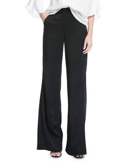 A.L.C. Miles Wide-Leg Crepe Pants
