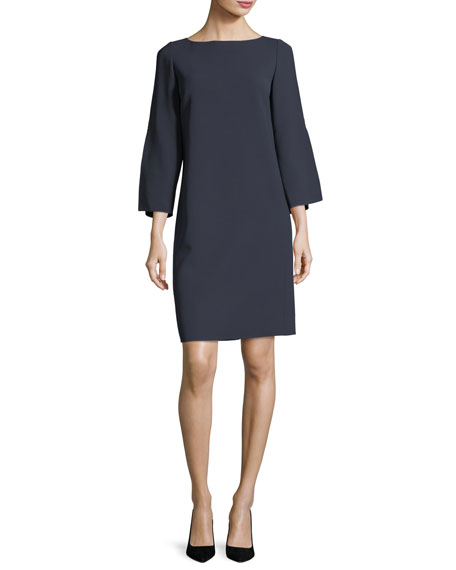 Candace Finesse-Crepe Dress, Plus Size