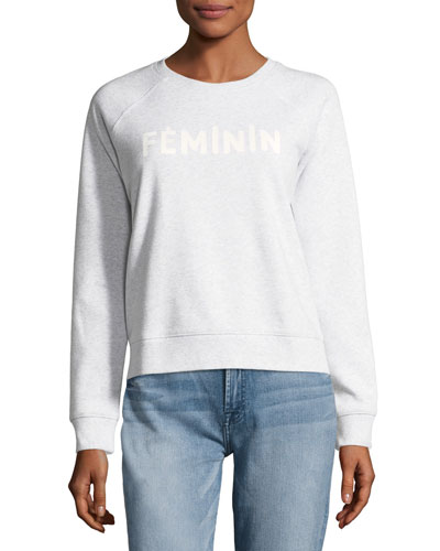 Feminin Raglan Sweatshirt