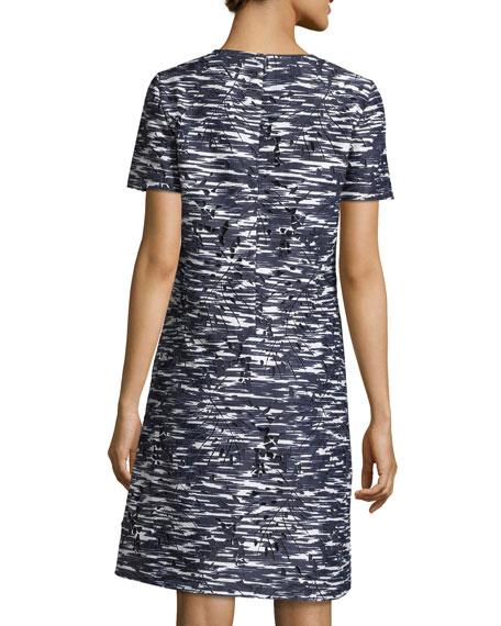 Dina Space-Dyed Cutout Dress