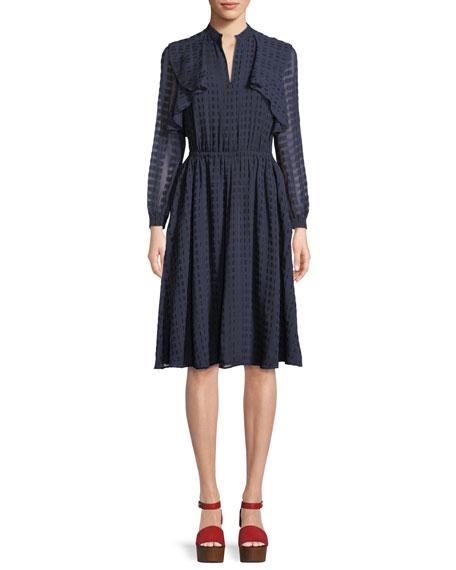 Grace Tiered Long-Sleeve Dress
