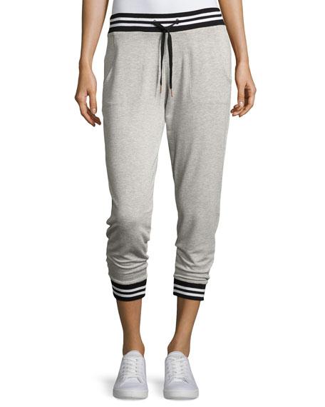 Varsity Cropped Sweatpants