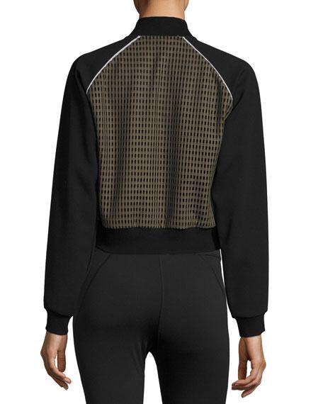 Flash Performance Jacket W/Mesh Panels