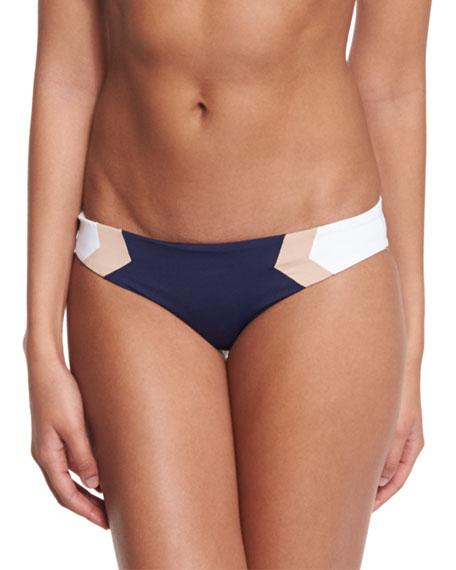 L Space Swimwear by Monica Wise Barracuda Reversible