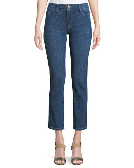 MiH Paris Stagger-Hem Skinny Jeans