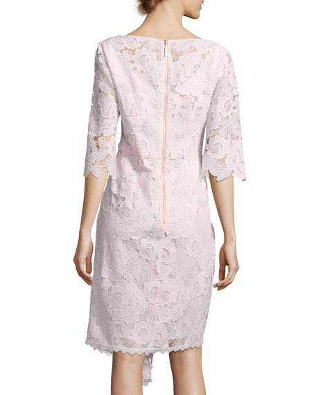 Bailamo Lace Asymmetric Dress
