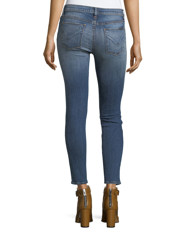 b8f32e0920c Hudson Nico Mid-Rise Super Skinny-Leg Ankle Jeans | Neiman Marcus