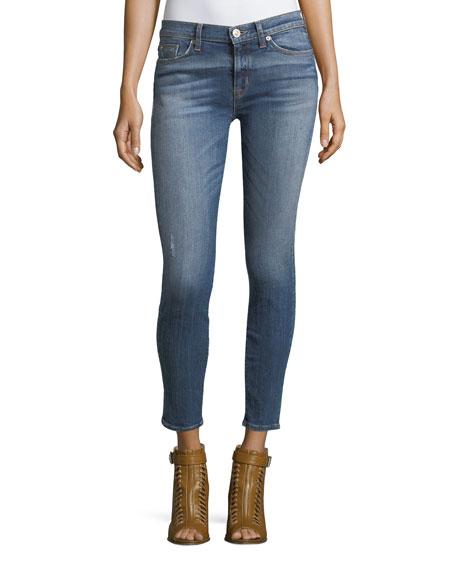 Hudson Nico Mid-Rise Super Skinny-Leg Ankle Jeans