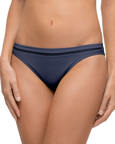 Elegance à Bord Hipster Swim Bikini Bottoms