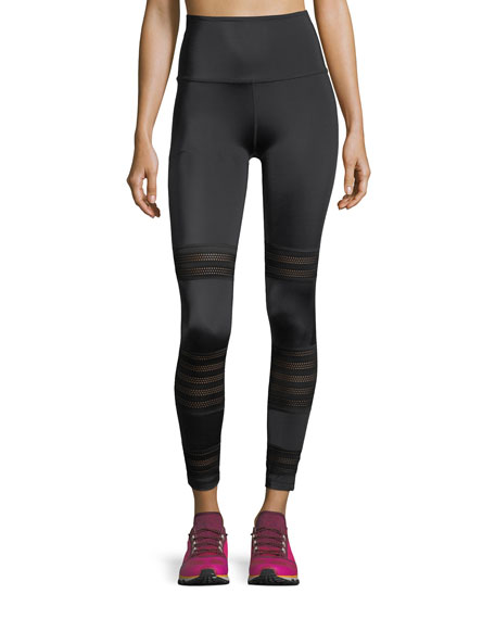 Beyond Yoga Mesh to Impress High-Waist Midi Legging