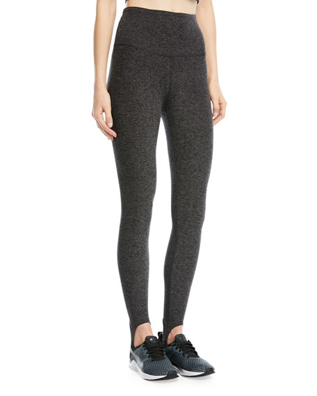 Beyond Yoga High-Waist Riding Stirrup Leggings