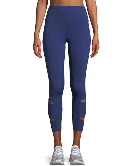 Lanston Liam Slit Performance Leggings