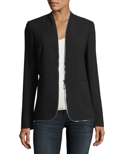 Kristina Zip-Trim Jacket
