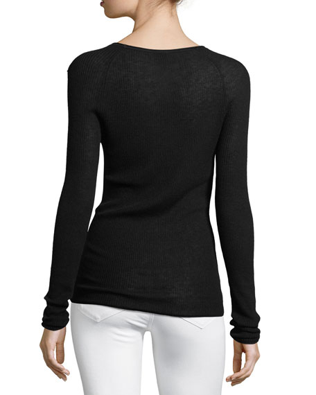 Carly Lightweight Ribbed Sweater