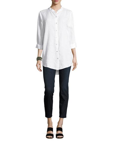 Organic Linen Tunic Shirt