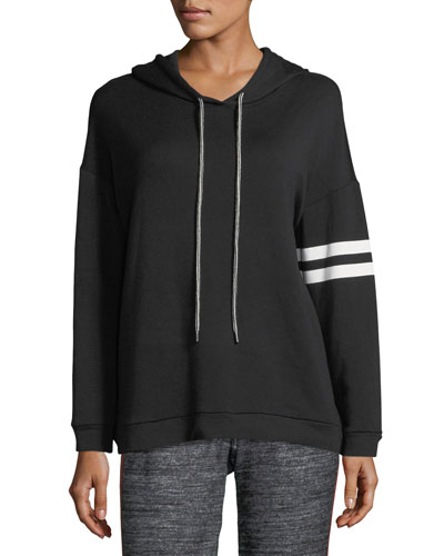 Hevera Hoodie with Arm Stripes
