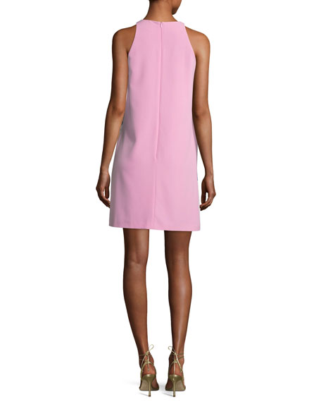 Graphic-Print Sleeveless Shift Dress