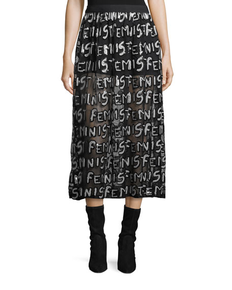 Levon Shorts with Graphic-Print Overskirt