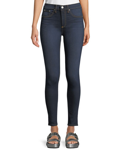High-Rise Skinny-Leg Ankle Jeans