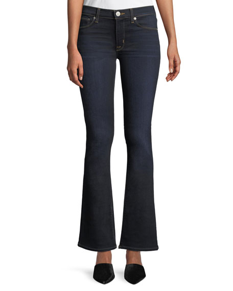 Hudson Love Mid-Rise Boot-Cut Jeans