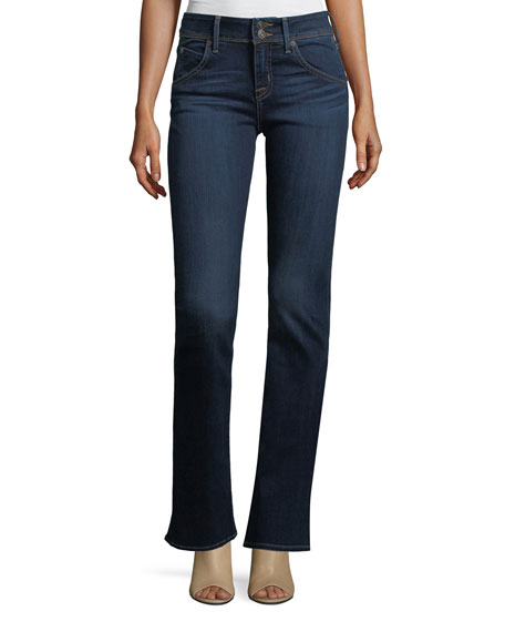 Hudson Beth Mid-Rise Babyboot Jeans