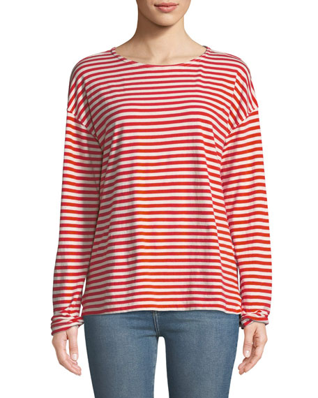 The Breton Cotton Long-Sleeve T-Shirt