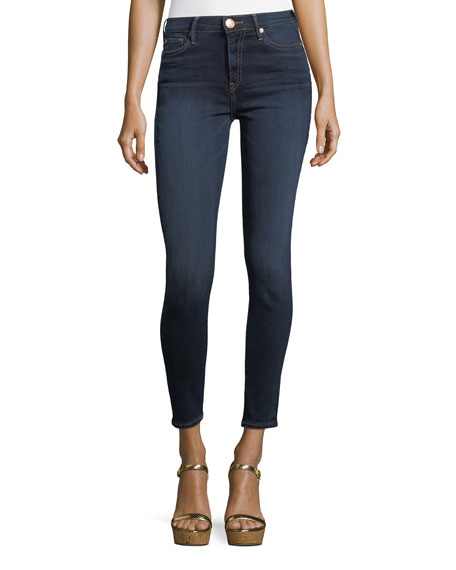 True Religion Halle High-Rise Super Skinny-Leg Ankle Jeans