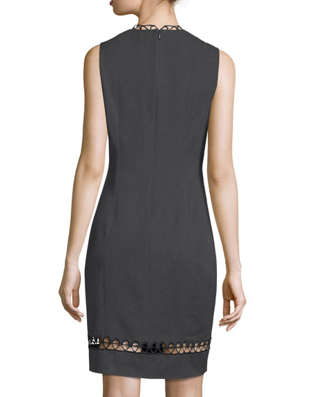 Roanna Sleeveless Sheath Dress
