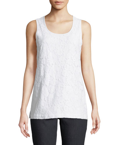 Floral-Lace Layering Tank