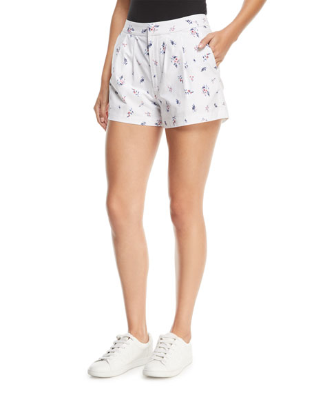 Joie Anci Floral-Print Shorts