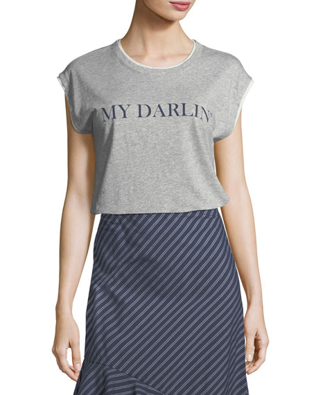 Glyn My Darling Crewneck Cotton Tee