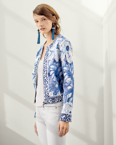 Rainforest Zip-Front Jacket