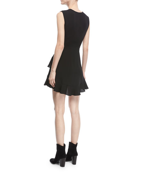 Arcas Sleeveless Fit-and-Flare Mini Dress