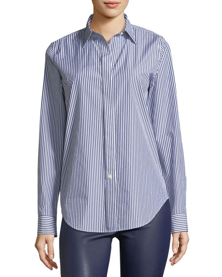 Essential Button-Down Hartman Stripe Shirt
