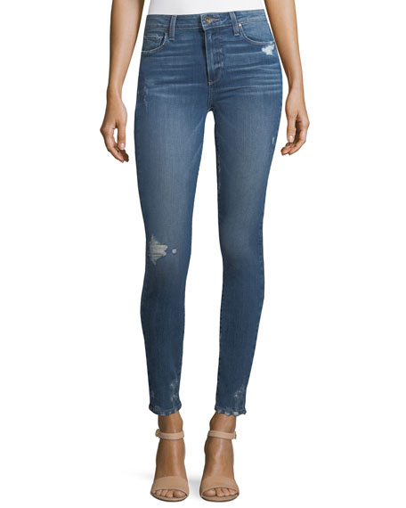 PAIGE Hoxton Ultra Skinny-Leg Jeans